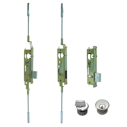 One, Two, Three-point Commercial Door Locks