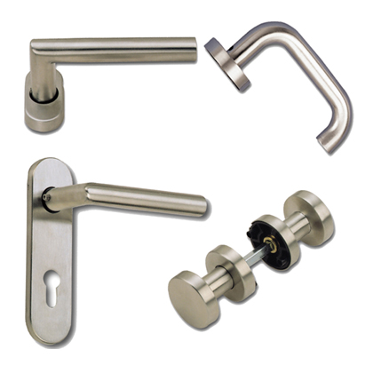 Stainless Steel Hollow Lever Handles & Knobs