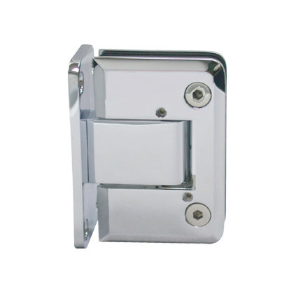 Heavy Duty Pneumatic Hingestempered Glass Door System Glass Door